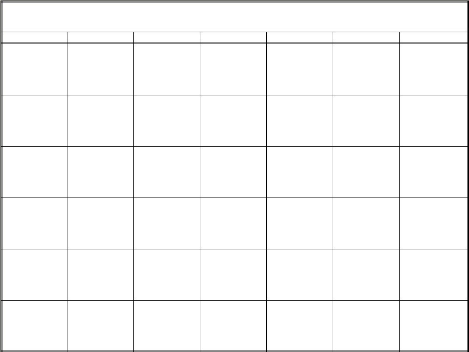 blank monthly calendar page