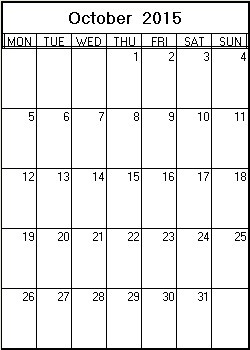 printable appointment calendar 2015